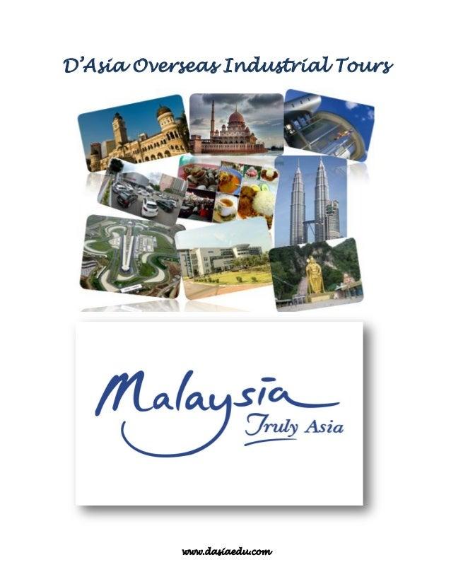 www.dasiaedu.com D'Asia Overseas Industrial Tours