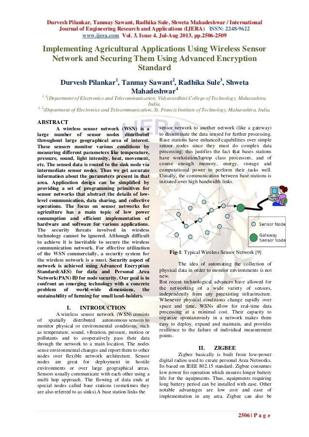 Durvesh Pilankar, Tanmay Sawant, Radhika Sule, Shweta Mahadeshwar / International Journal of Engineering Research and Appl...