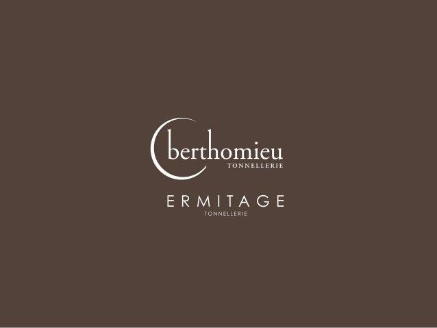 L'Informatore Agrario - Tonnellerie Berthomieu e Ermitage - Vinitaly 2013