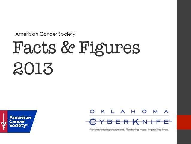 American Cancer SocietyFacts & Figures2013