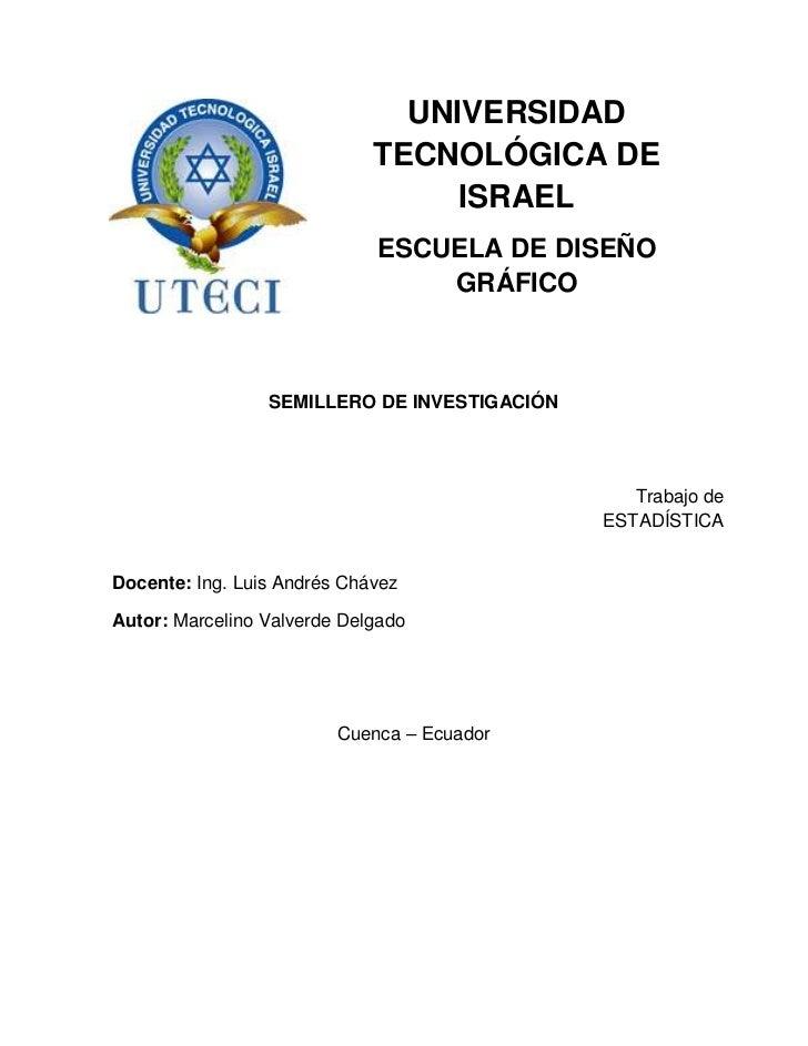 UNIVERSIDAD                             TECNOLÓGICA DE                                  ISRAEL                            ...
