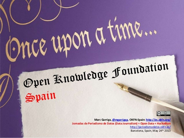 Presentación de Okfn-Spain