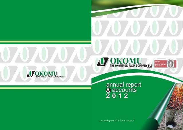 Okomu Oil Annual Report 2012