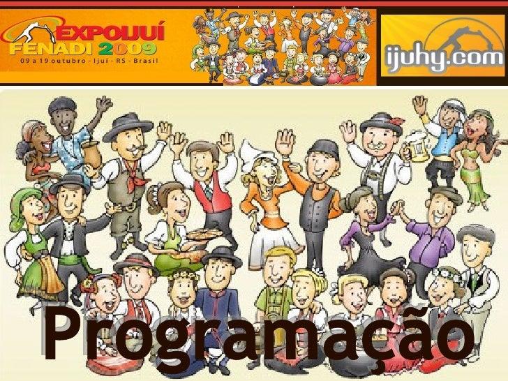 Ok ProgramaçAo Expo Fenadi 2009