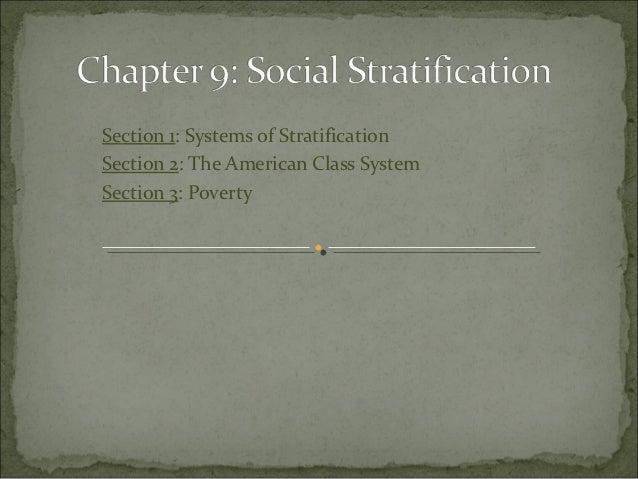 SOCIAL STARTIFICATION