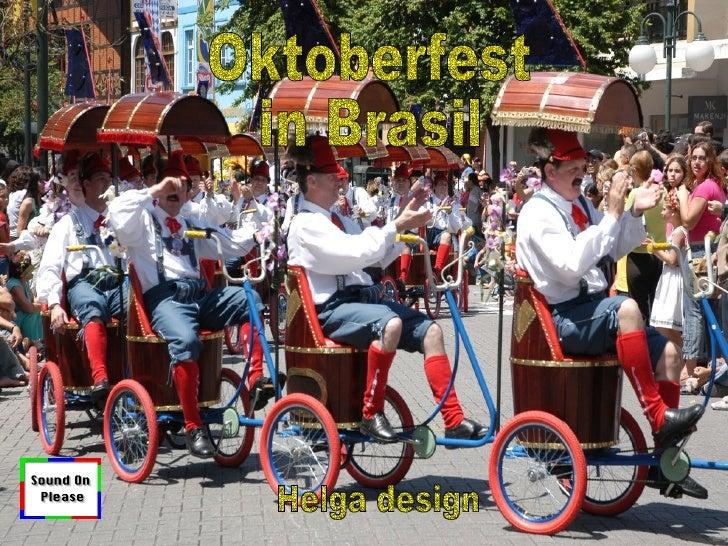 Oktoberfest  in Brasil Helga design