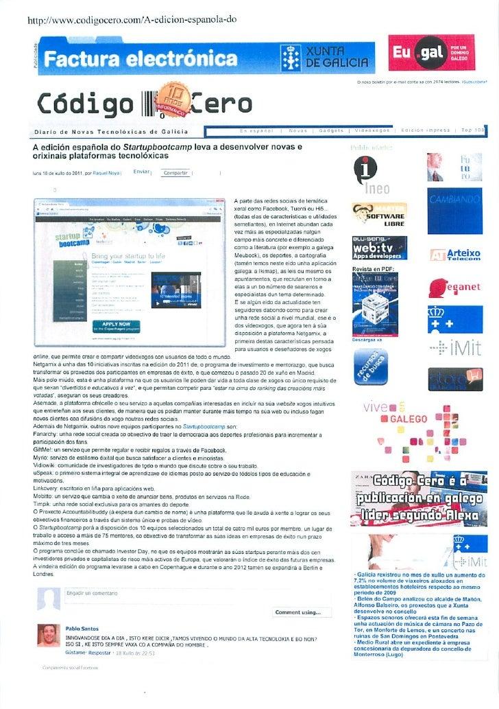 Okuri Ventures & Tetuan Valley - Menciones en medios Ago2011 parte B