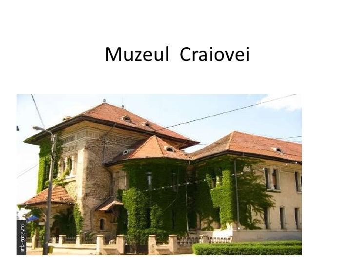 Muzeul  Craiovei<br />