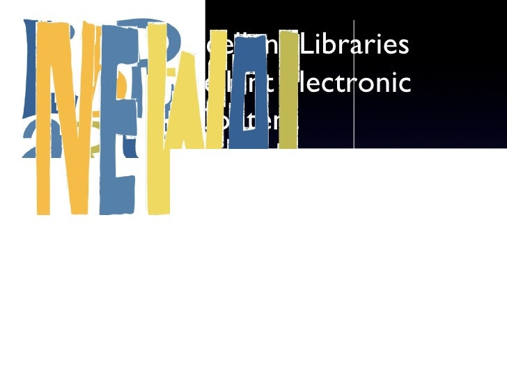 Ohio's Excellent Libraries Need Excellent Electronic Content