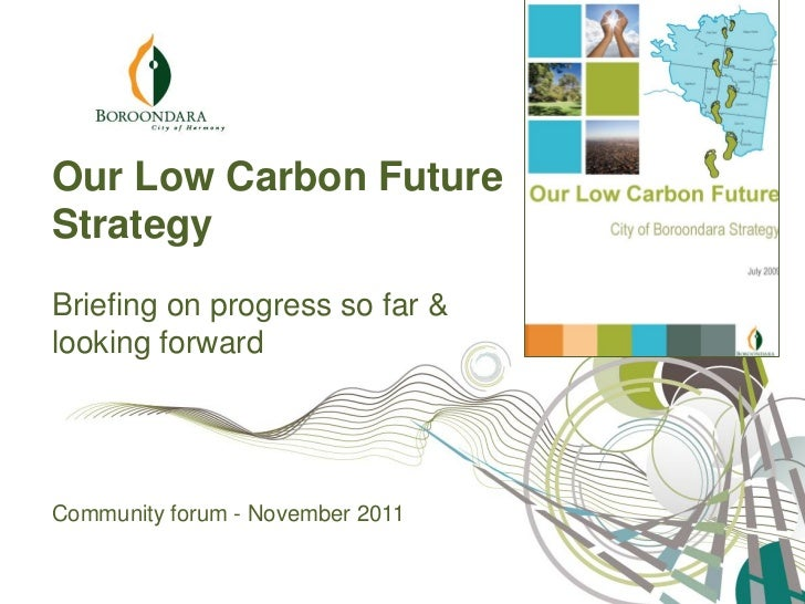 Our Low Carbon Future Community Consultation Nov 2011 draft