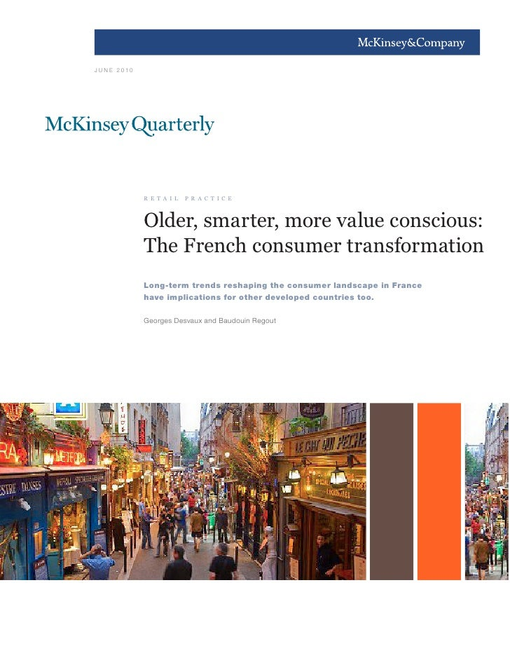 Older smarter more value conscious the french consumer transformation