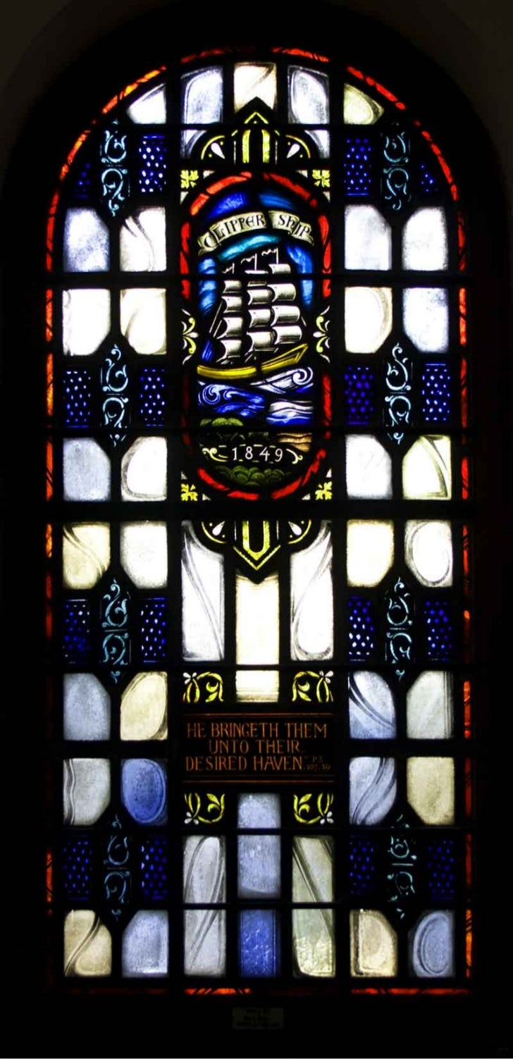 Willemina Ogterop: Old First Church's History Windows