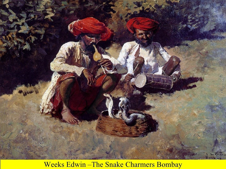 Weeks Edwin –The Snake Charmers Bombay