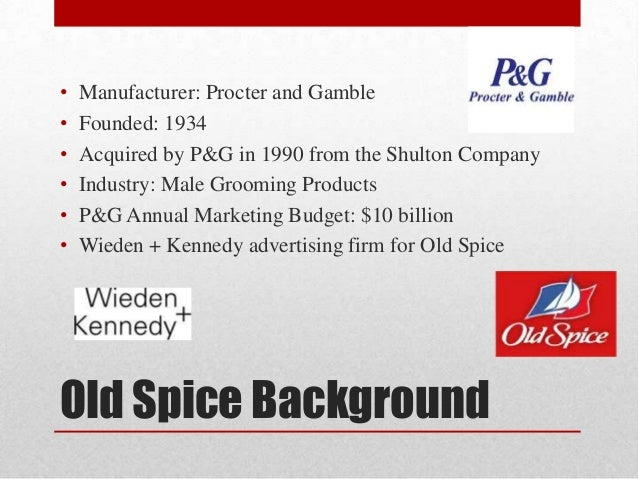 old spice case study social media Old spice a case study in using social media as part of a rebranding communication strategy written by: tian lan, bachelor of science computer science, viterbi.