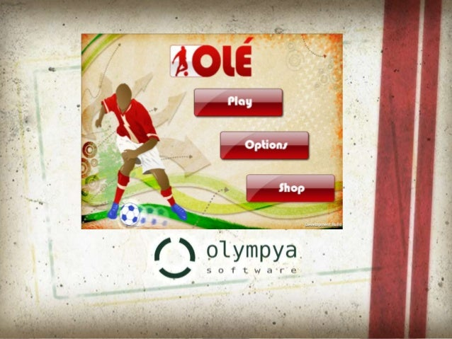 Olé is a free to play soccer game Drible and Goal Olé is a free to play soccer game exploring dribble and goal