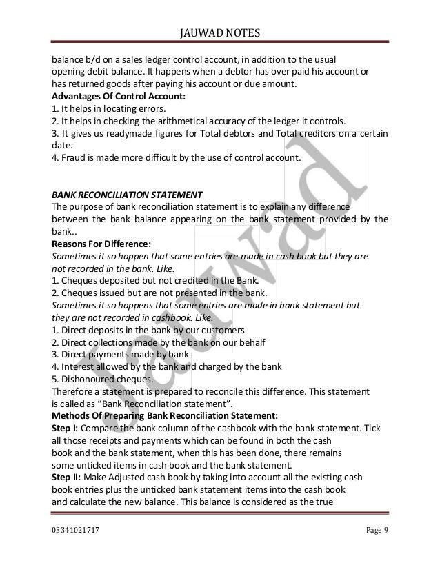 Sales Ledger Format on a Sales Ledger Control