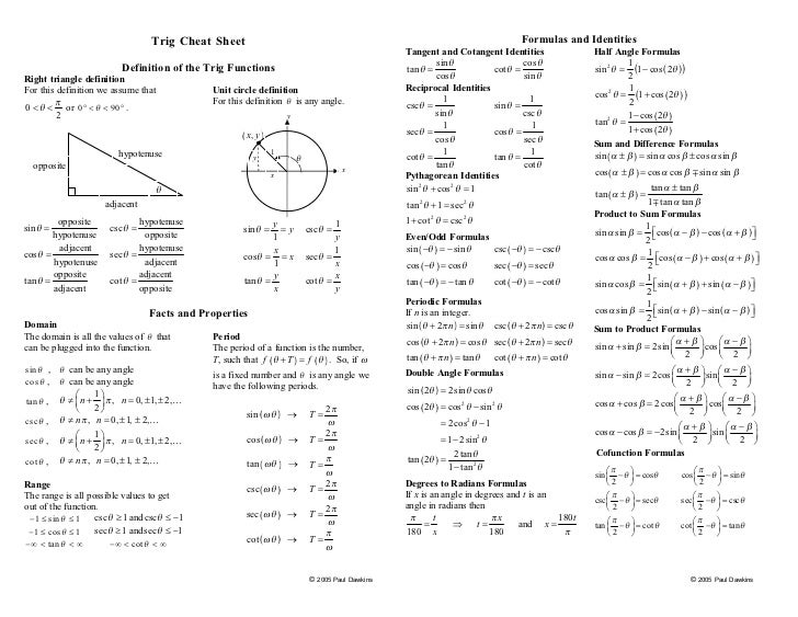 ... -calculus-algebra-trigonometry-pdf-trig cheat-sheet_free-download
