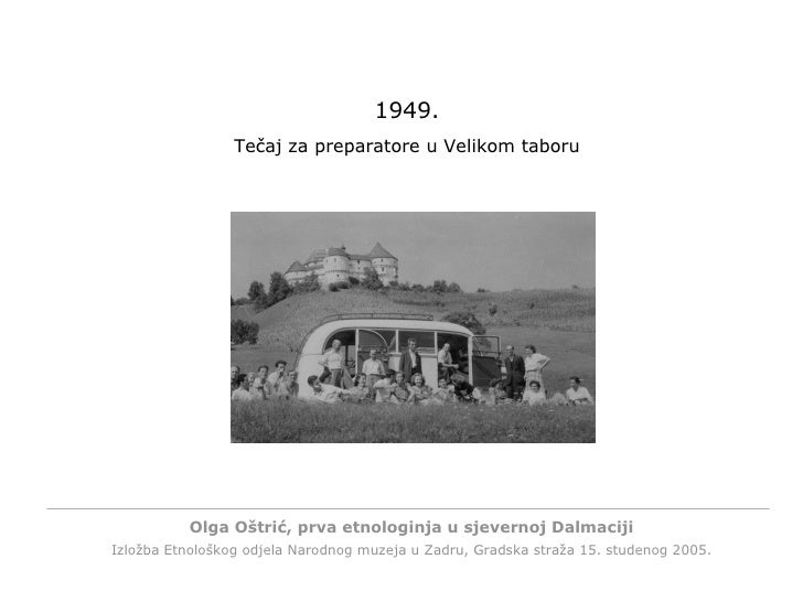 <ul><li>Try our new imagined software application. </li></ul>Click any key to continue. 1949. Tečaj za preparatore u Velik...