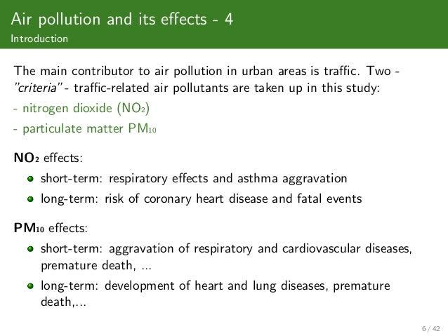 air pollution short essay 7