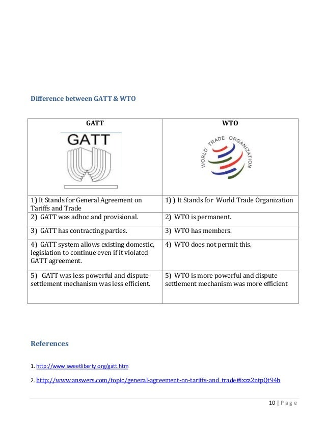 the agreement on agriculture of the wto economics essay Essay for students on wto and indian agriculture wto provisions related to international trade are now similarly applicable to agriculture which was brought.