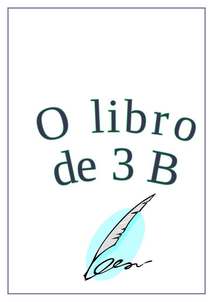 O libriño de 3º b