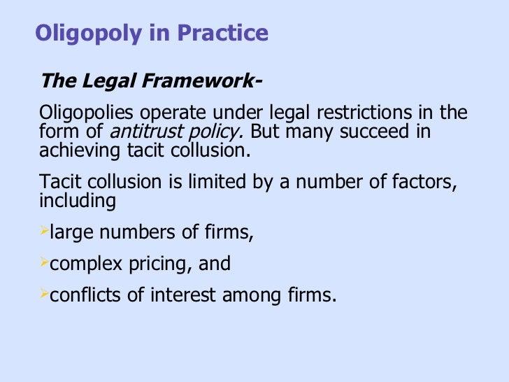 tacit collusion and strategic alliances Strategic management and competitive advantage  do strategic alliances facilitate tacit collusion 257  strategic alliances and sustained competitive.