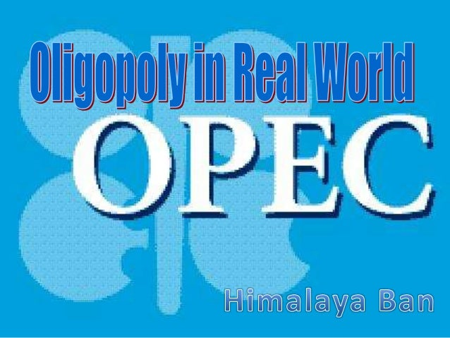 Oligopoly in real world