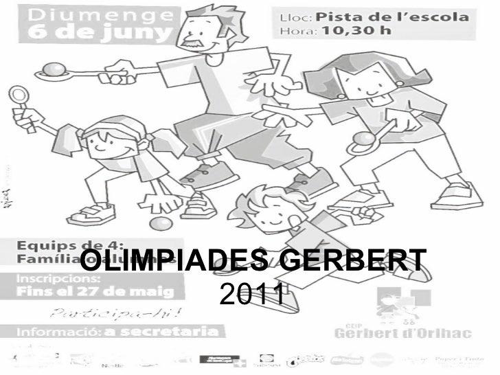 OLIMPIADES GERBERT 2011