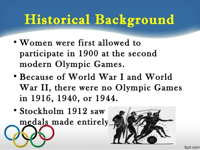 Who was allowed to take part in the ancient Olympic Games ...