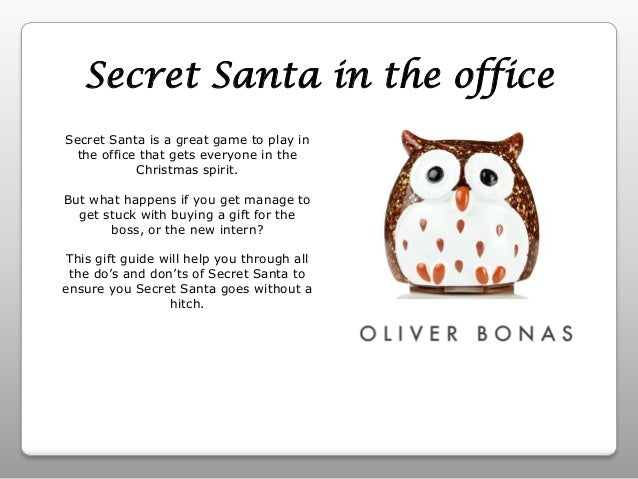 Secret Santa Message Ideas secret santa in the office