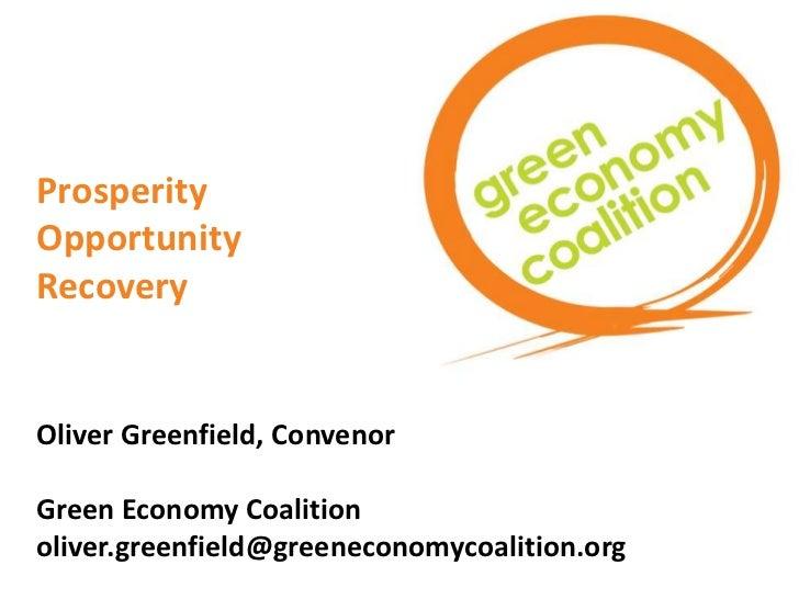 Principles of the Green Economy