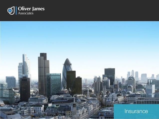Oliver james associates insurance services brochure