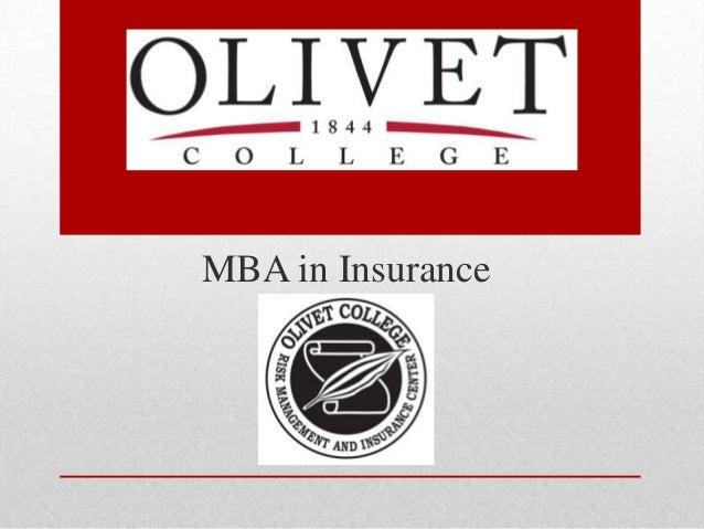 MBA in Insurance