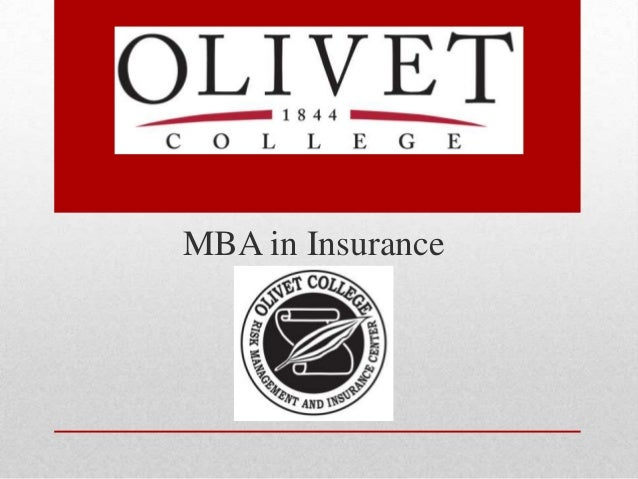 Olivet College MBA in Insurance