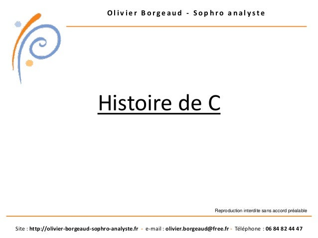 O l i v i e r B o r g e a u d - S o p h r o a n a l y s t e Site : http://olivier-borgeaud-sophro-analyste.fr - e-mail : o...