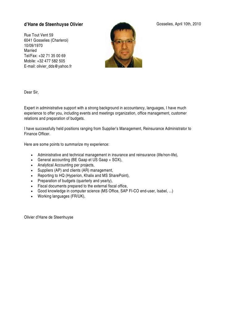 leadership resume template