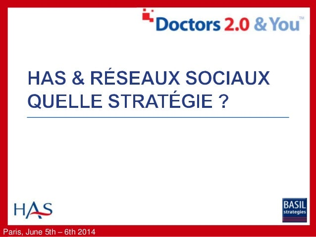 Paris, June 5th – 6th 2014