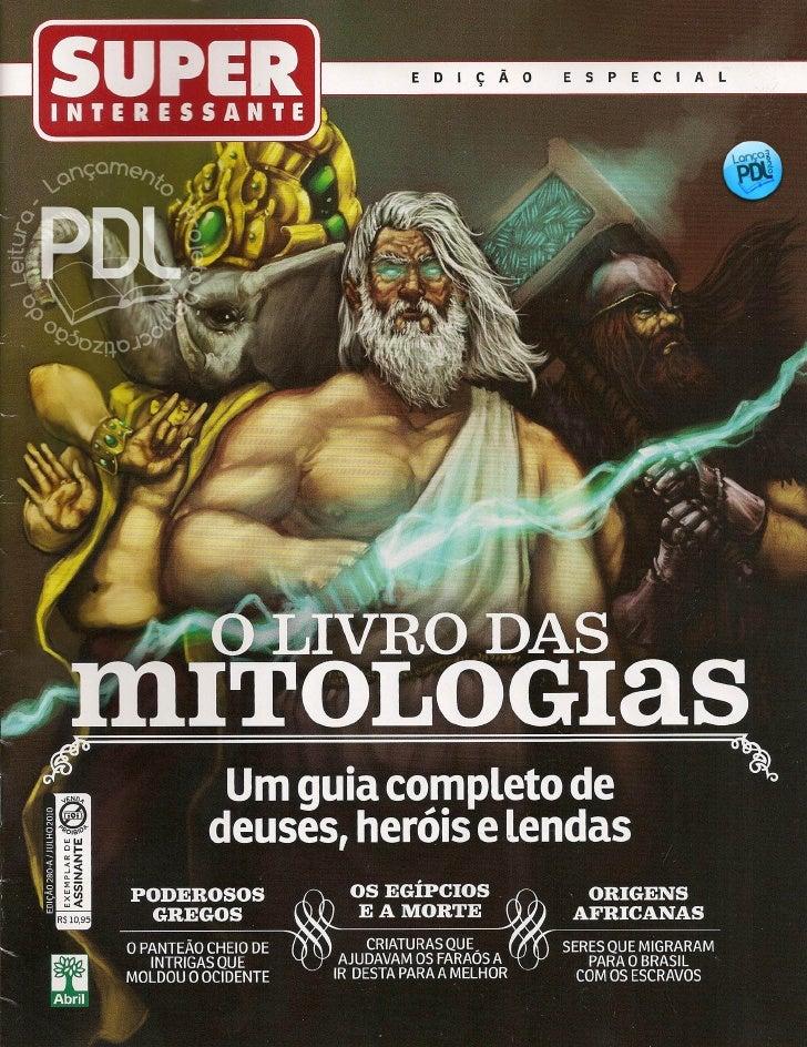 O livro das mitologias