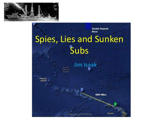 Spies, Lies and Sunken Subs