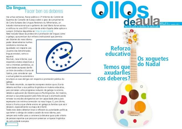 Ollos de aula. nº 3. Decembro de 2012 (versión para imprimir en A4 a dobre cara)