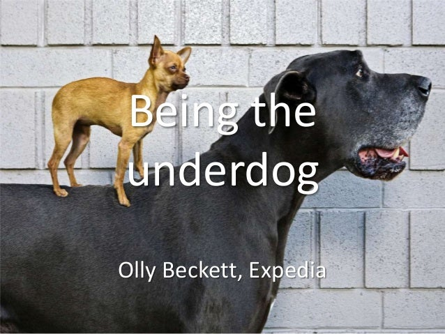 Being the underdog Olly Beckett, Expedia