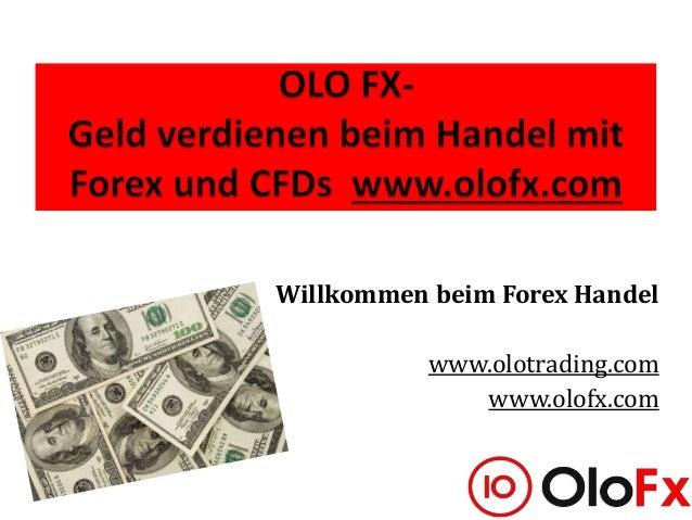 Der Handel auf dem Forex Markt