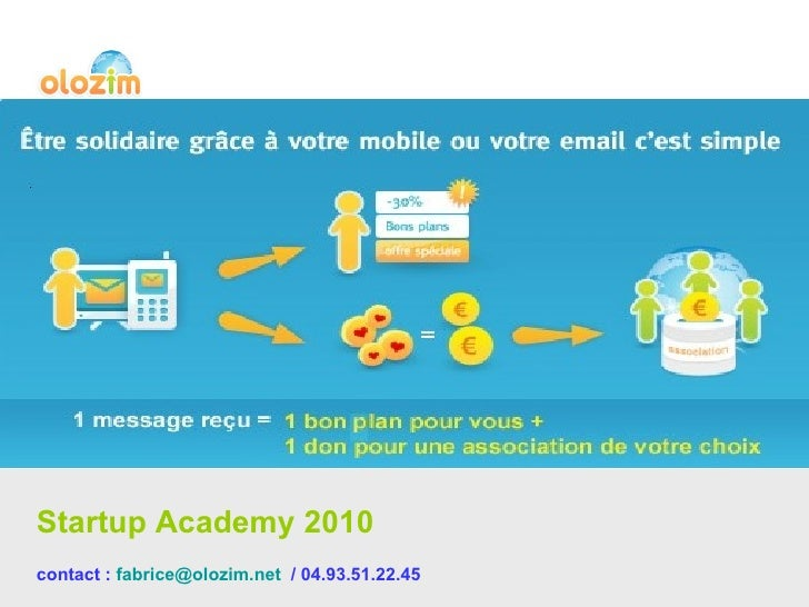 Startup Academy 2010  contact :  [email_address]   / 04.93.51.22.45