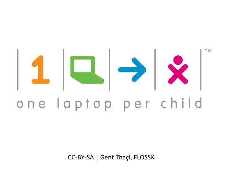 One Laptop Per Child (Albanian Lan.)