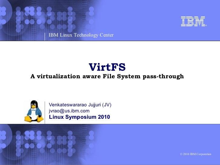 VirtFS Ols2010