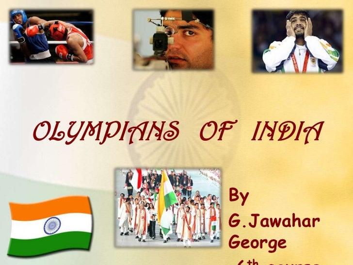 Olympians   of   india