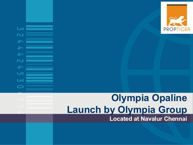 Olympia Opaline Launch by Olympia Group Located at Navalur Chennai