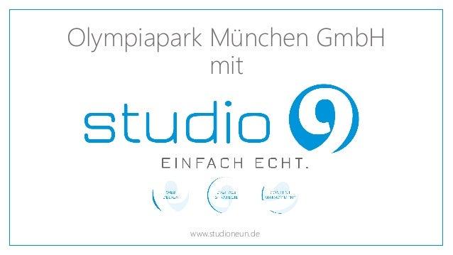 Olympiapark München GmbH mit www.studioneun.de