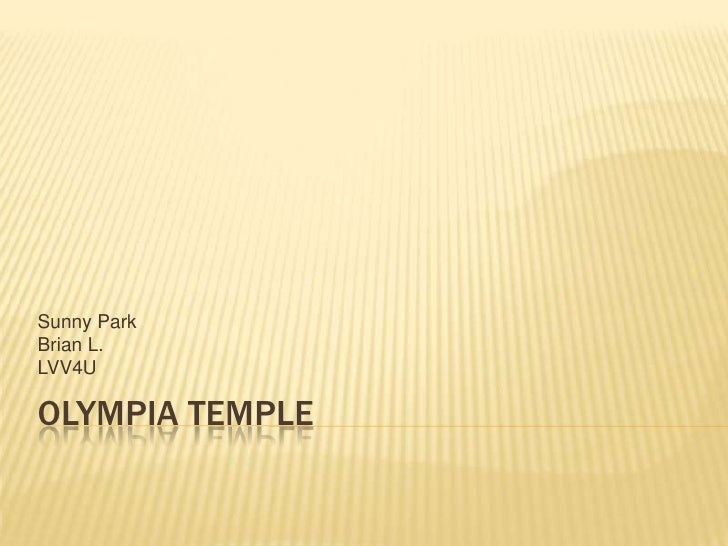 Olympia Temple