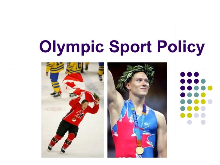 Olympic Sport Policy